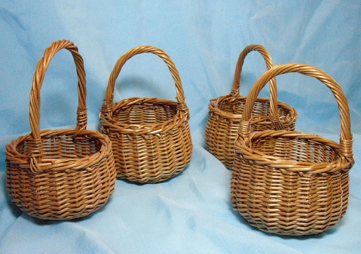 Плетеные корзины из разных материалов как сделать
